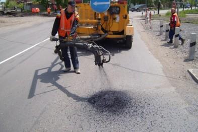400 тыс. рублей выделено из бюджета города для ямочного ремонта дорог