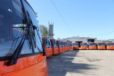 В Нижнем Новгороде муниципальный автопарк пополнился 50 новыми автобусами