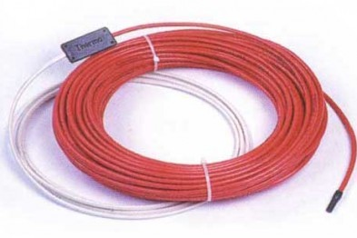 Использование греющего кабеля
