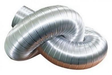 Использование гибких вентиляционных воздуховодов