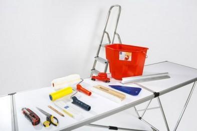 Инструменты для работы с бумажными обоями