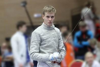 Лучшим саблистом «Новогоднего турнира» стал Кирилл Тюлюков