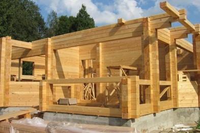 Строительство коттеджей из бруса