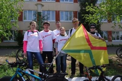 Велолюбители из Арзамаса поучаствовали в XI велопробеге «Дорога Минина»