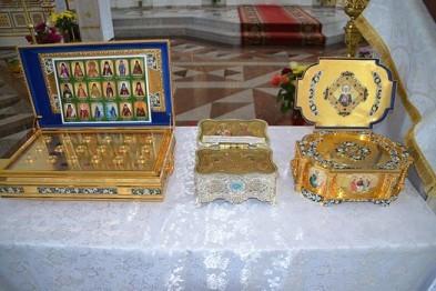 Частица мощей Николая Чудотворца хранится в Арзамасе