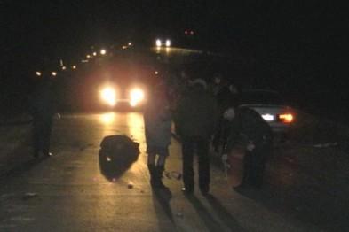 В Арзамасском районе насмерть сбили пешехода, переходящего дорогу в неустановленном месте