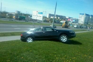 Попала под колеса собственного автомобиля и чуть не погибла