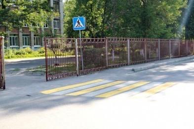 Пешеходные переходы у школ в Арзамасе будут облагорожены