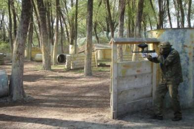 Бизнес на строительстве и обслуживании площадок для пейнтбола