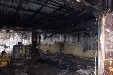 2.5 часа продолжался крупный пожар в Нижнем Новгороде