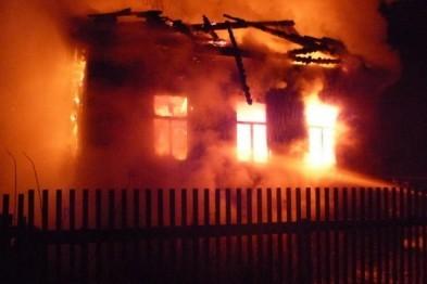 86-летний старик сгорел в селе Починки Нижегородской области