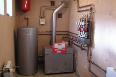 Схема для создания отопления дома
