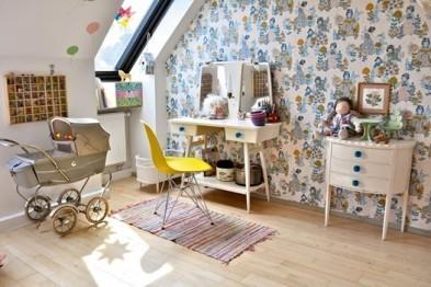Развивающий интерьер детской комнаты: 9 идей