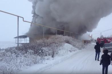 Кровля дома сгорела накануне в мкр.Заречный п.Березовка Арзамасского района