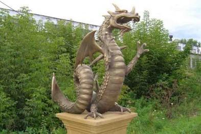 Создание садовых скульптур