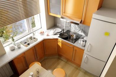 Советы по оформлению малогабаритной кухни