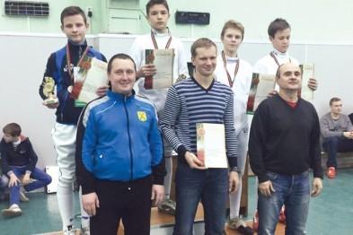 Новые награды юных спортсменов