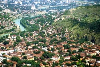 Древний город Тбилиси