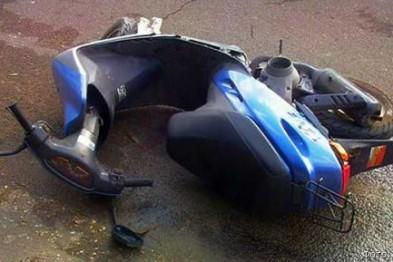 Пьяный житель Бора без прав попал в ДТП на мопеде