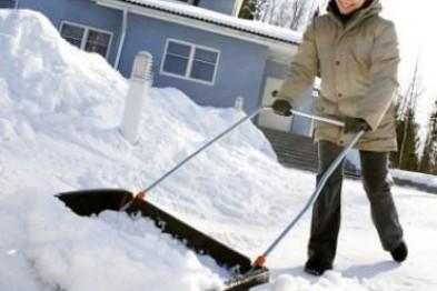 Зимняя уборка снега в Арзамасе