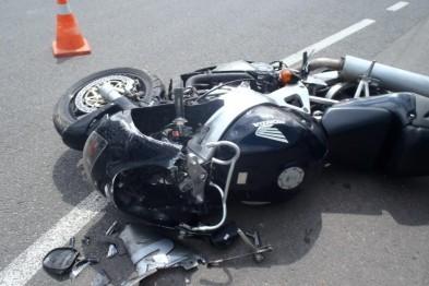 В ДТП на улице Советской пострадали несовершеннолетний мотоциклист и его пассажирка