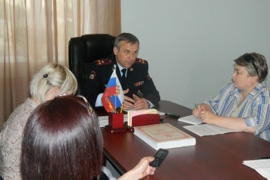 О работе полицейских отчитался глава ОМВД Арзамаса