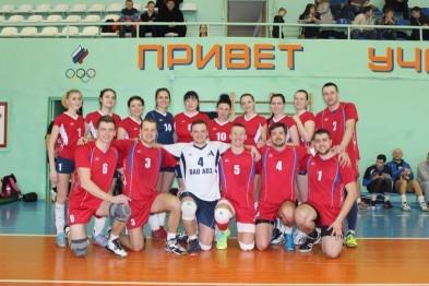 Арзамасские волейболисты успешно выступили на кубке имени первого главы Мурома