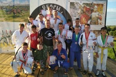Арзамасские спортсмены вернулись с соревнований по армейскому рукопашному бою победителями