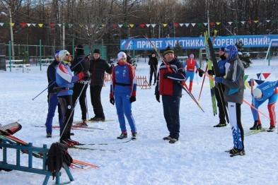 Соревнования по лыжным гонкам прошли в Арзамасе