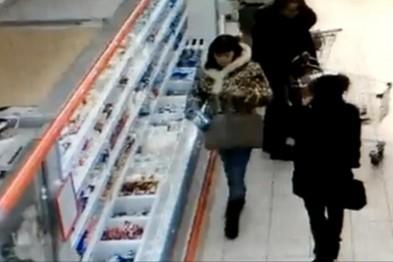 Подозреваемую в серии краж из магазинов задержали в Арзамасе (ВИДЕО)