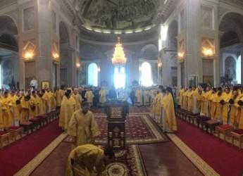 Прямая трансляция литургии из кафедрального собора во славу Воскресения Христова в Арзамасе