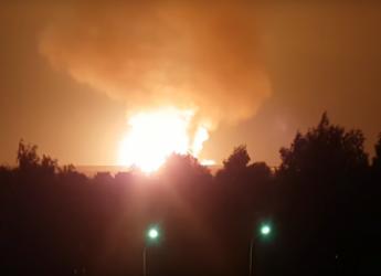 Мощный взрыв газопровода произошел возле Сергача