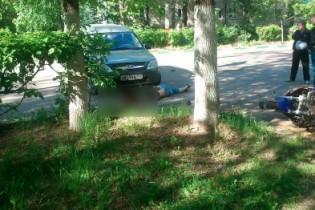 24-летний мотоциклист погиб в Арзамасе, выехав на полосу встречного движения