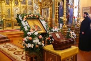 В Арзамасе встретили ковчег с частицей мощей святого Федора Ушакова