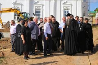 Митрополит Георгий побывал в Арзамасе и оценил подготовку к приезду патриарха Кирилла