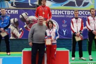 Кирилл Тюлюков завоевал бронзовую медаль на юниорском первенстве России