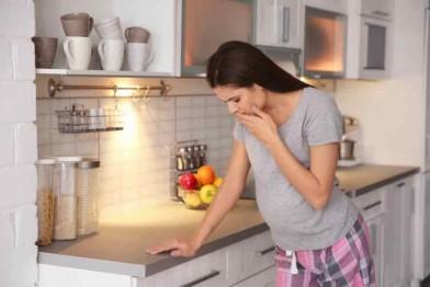 Как справиться с токсикозом (фото)