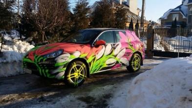 Способы применения меловой краски для авто (фото)