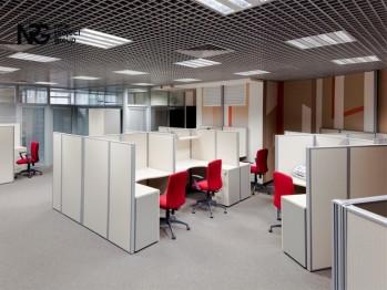 Офисные перегородки для организации рабочего пространства (фото)