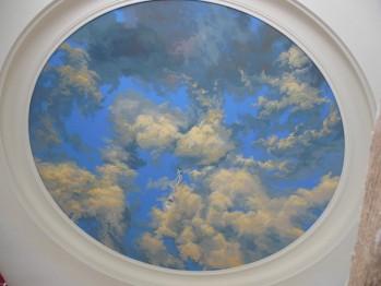 Художественная роспись стен и потолка (фото)