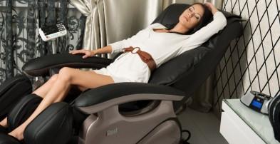 Массажное кресло: скромное обаяние большого комфорта (фото)