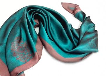 Шелковый платок к отпуску (фото)